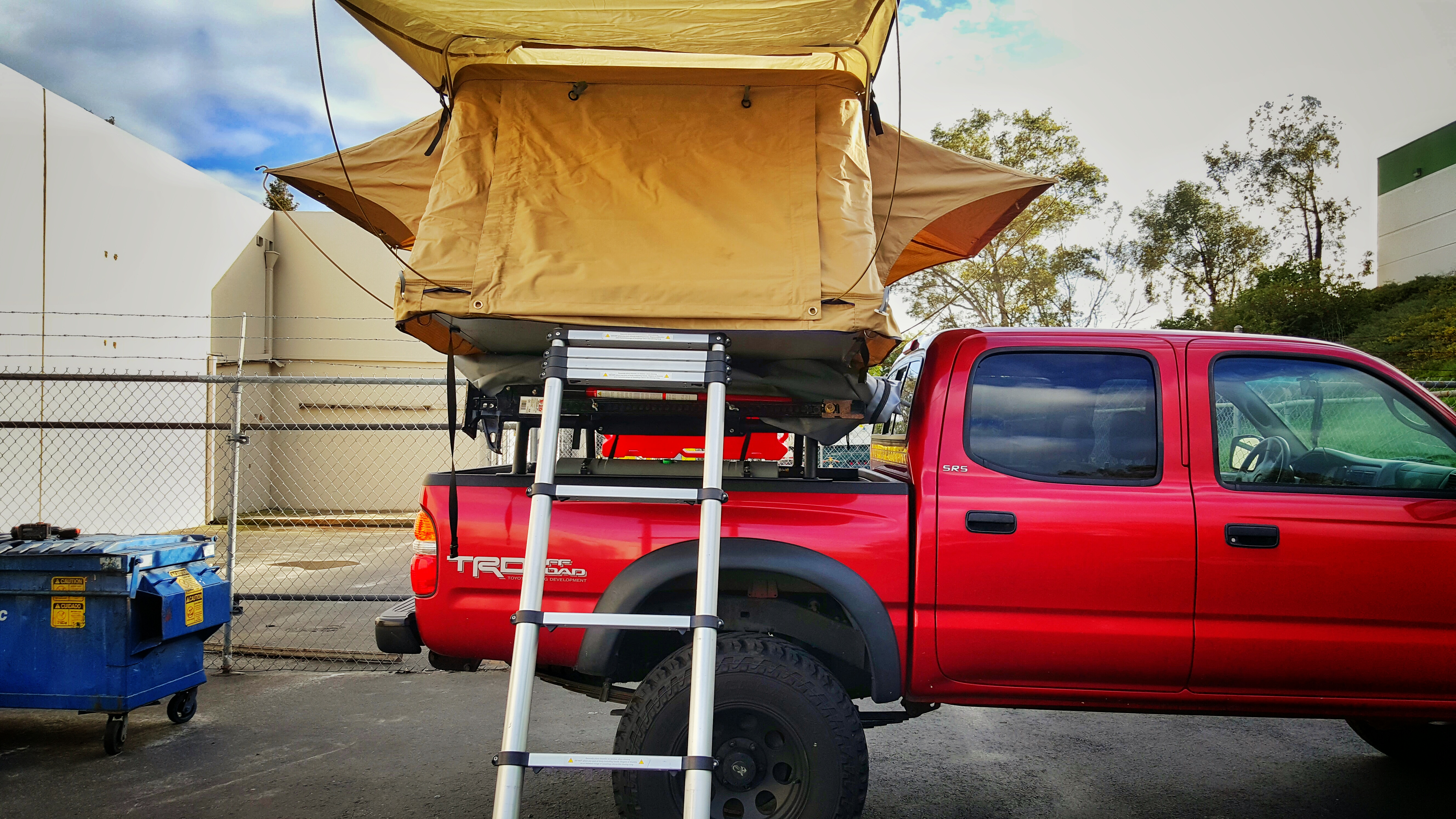 Low Profile Rtt Bed Rack 95 To 04 Tacoma