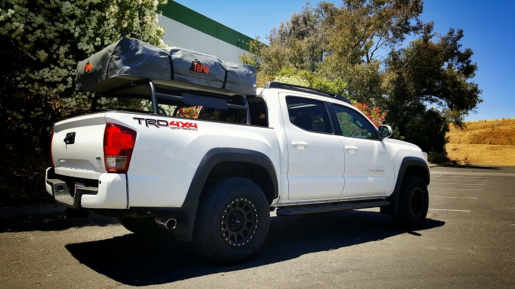 Low Profile Rtt Bed Rack 2016 Plus Tacoma