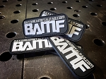 BAMF Velcro Patches