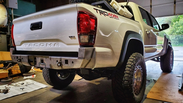 2016 to 2020 Tacoma Standard Rear Bumper (NO SWINGOUT)