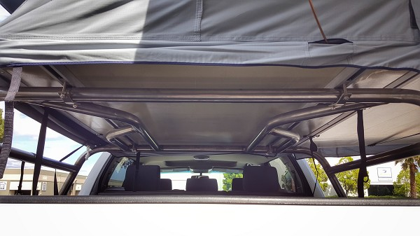 Low profile RTT bed rack 2007 and up Tundra