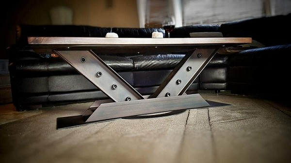 V Beam Coffee Table