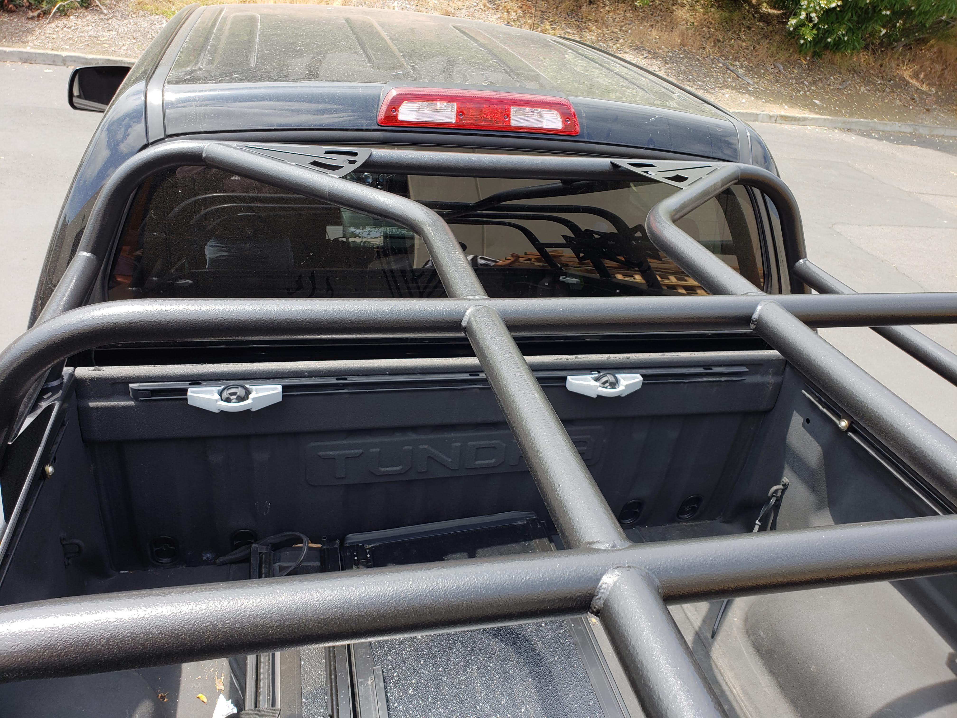 2007 2021 Toyota Tundra Bed Rack