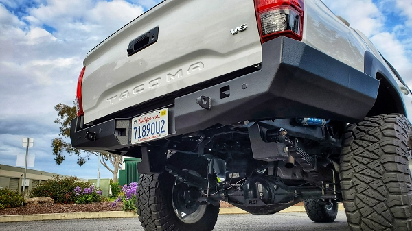 2016 to 2020 Tacoma High Clearance Rear Bumper (NO SWINGOUT)