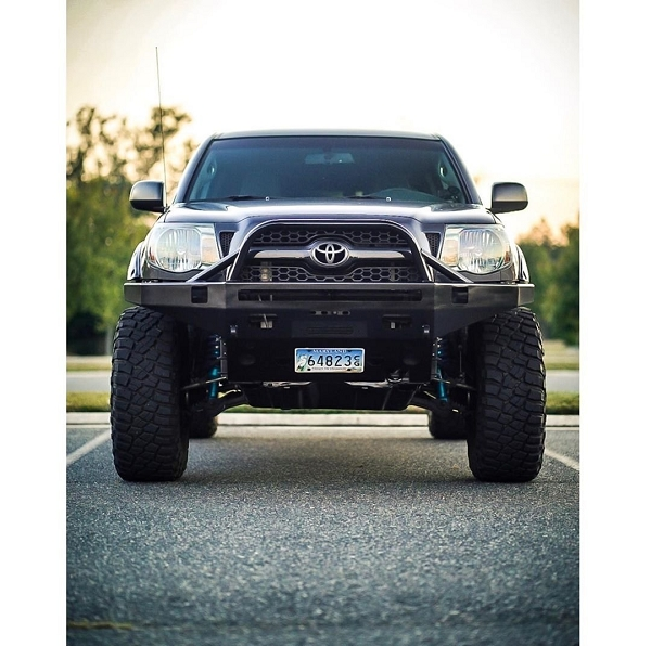 2005 to 2011 Tacoma front plate bumper
