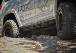 5th Gen Toyota 4Runner Bolt on Rock Sliders with Kick Out